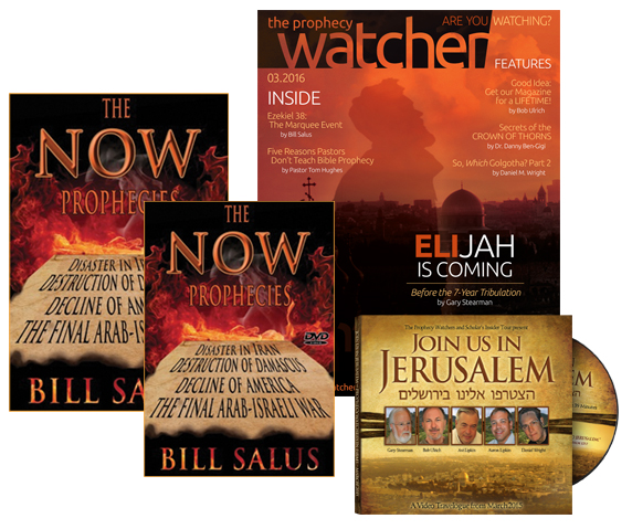 The NOW Prophecies Package (New Book & DVD from Psalm 83