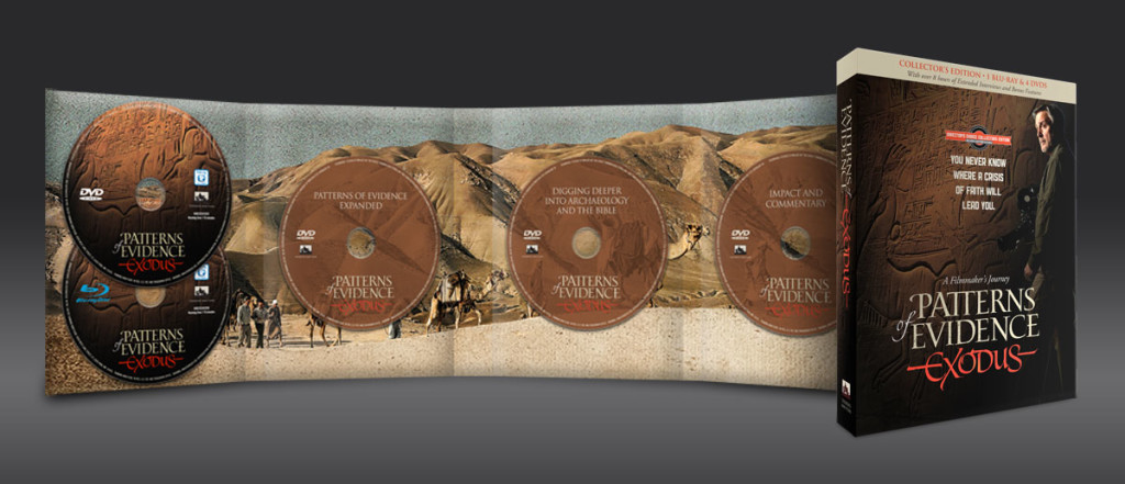 Patterns Of Evidence Exodus Collector S Edition 4 Dvds 1 Blu