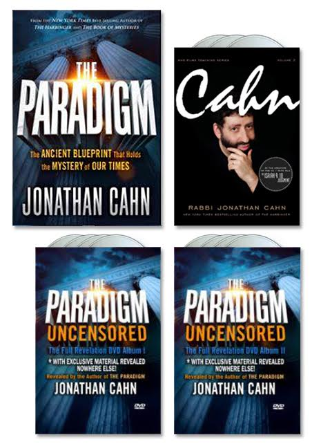The paradigm package 2 new from jonathan cahn get the the paradigm uncensored album ii dvd malvernweather Images