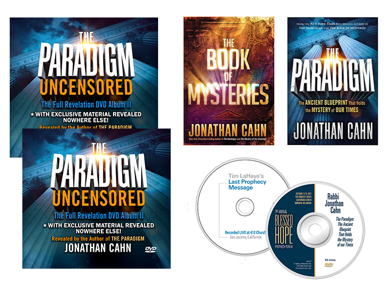 The ultimate paradigm package by jonathan cahn 2 books 10 dvds free shipping in usa only this package is available for non usa customers with additional international shipping costs malvernweather
