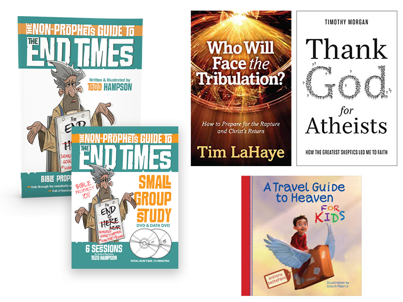 The End Times Prophecy Study Package - Book, Prophecy Study Guide DVD, and  3 FREE BOOKS! - by Todd Hampson